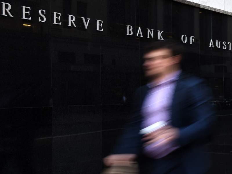 The Reserve Bank of Australia in Sydney, Tuesday, Sept. 1, 2015. The Reserve Bank has announced it will keep interest rates on hold at an historic low of 2 per cent. The Australian bond market has been weighed down by a spike in oil prices, nervousness about China's pace of growth and fears of a September US rate rise. (AAP Image/Dean Lewins) NO ARCHIVING