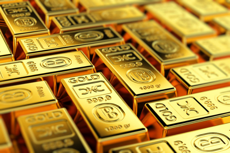 3.Gold up_ but other precious metals fall